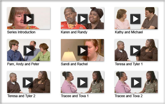 Family stories of resiliency video index
